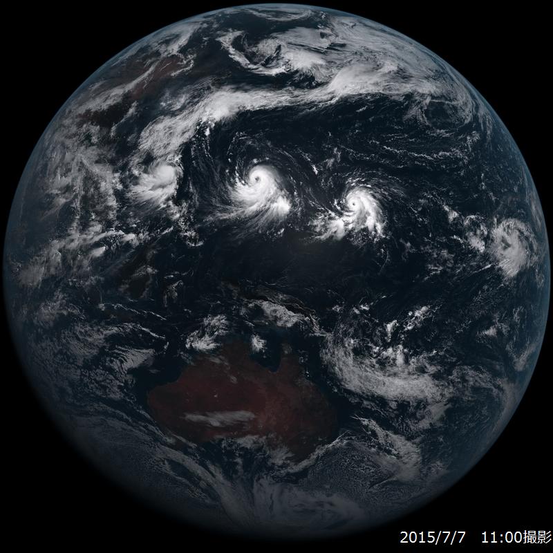 衛星 画像 気象 雲